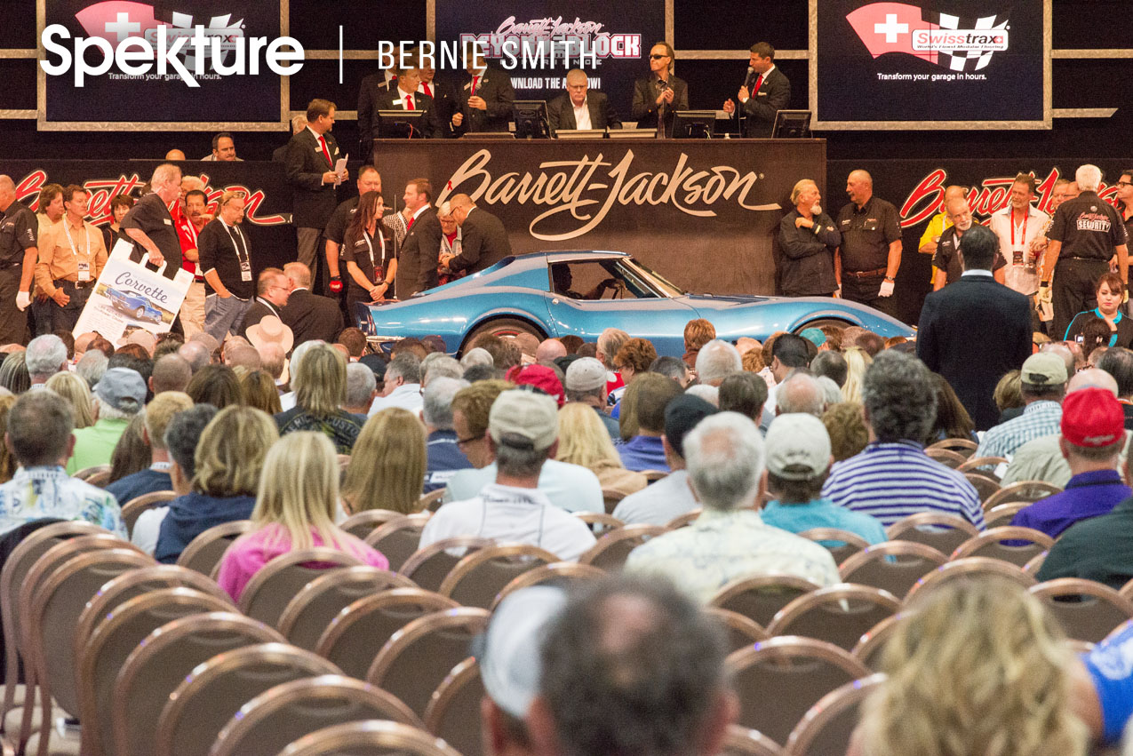 Record Sales At The 9th Annual Barrett Jackson Las Vegas Collector