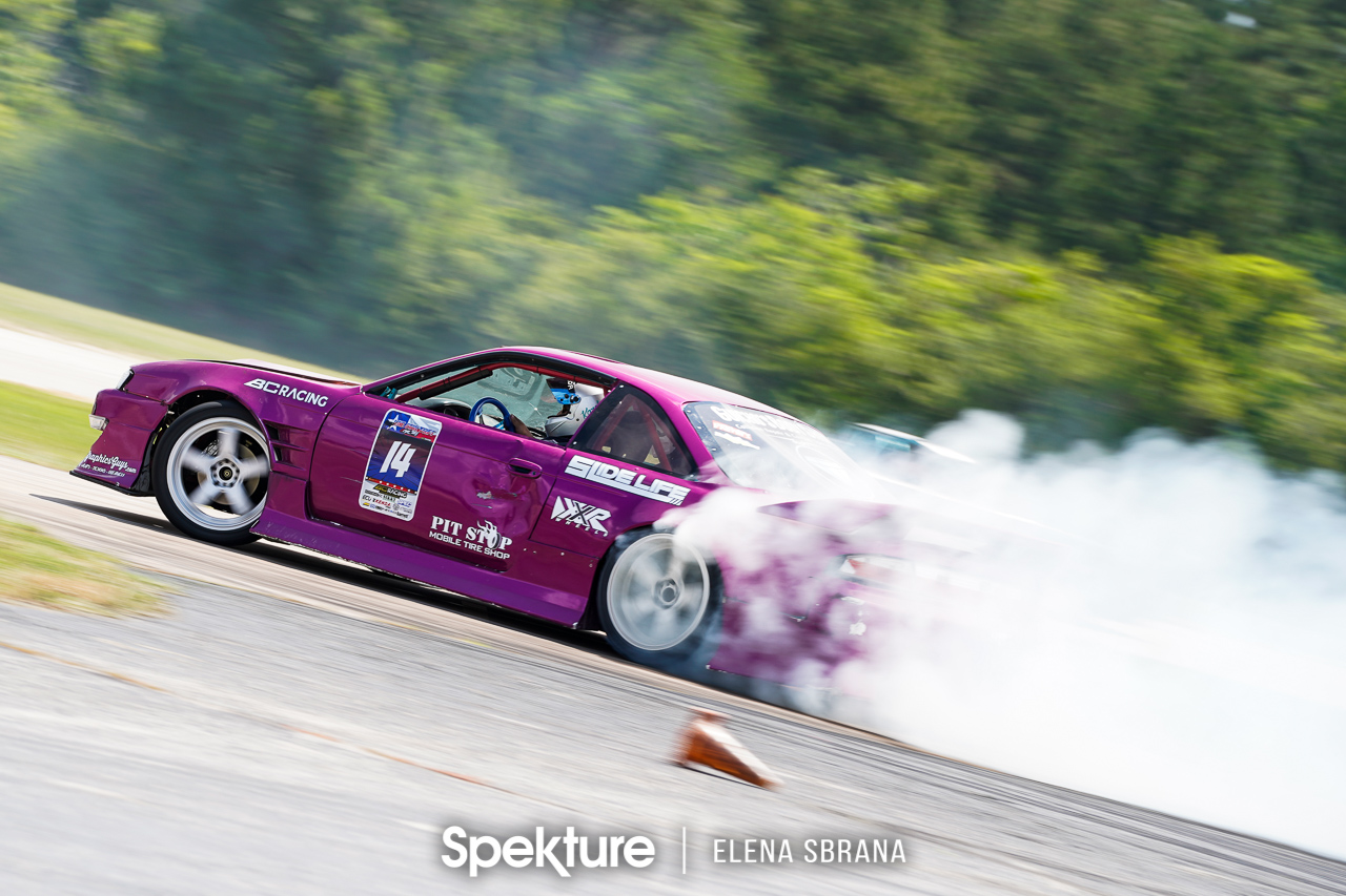 Lone Star Drift Round 3 – Racing on the Houston Police Academy track.