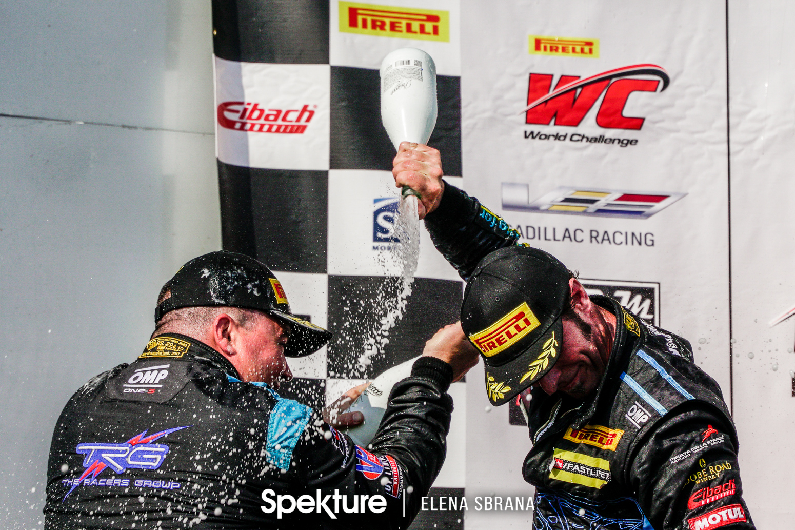 Earchphoto - Derek and Sean on the podium at COTA in 2017.