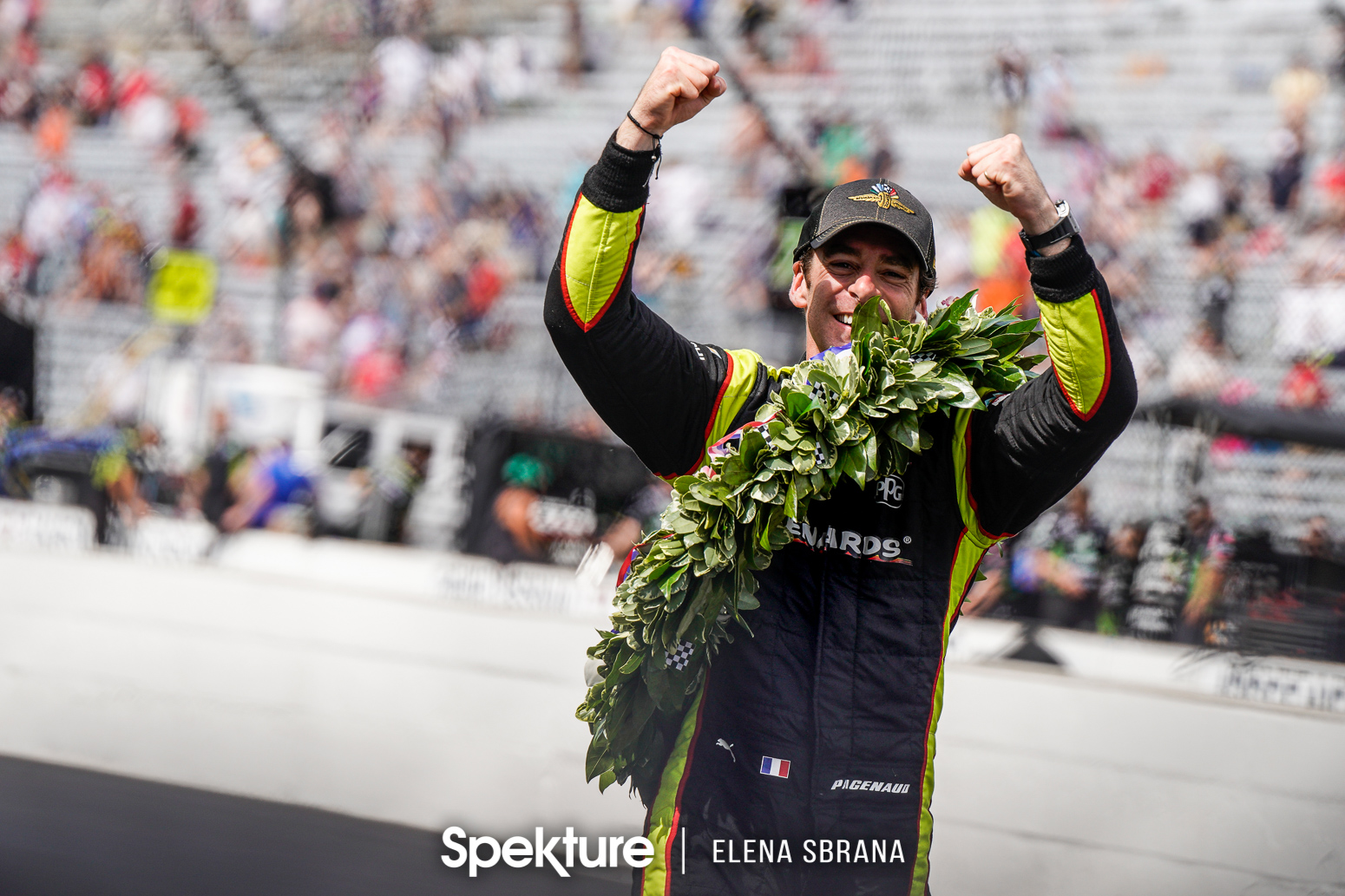 Earchphoto Sports - Simon Pagenaud celebrates victory
