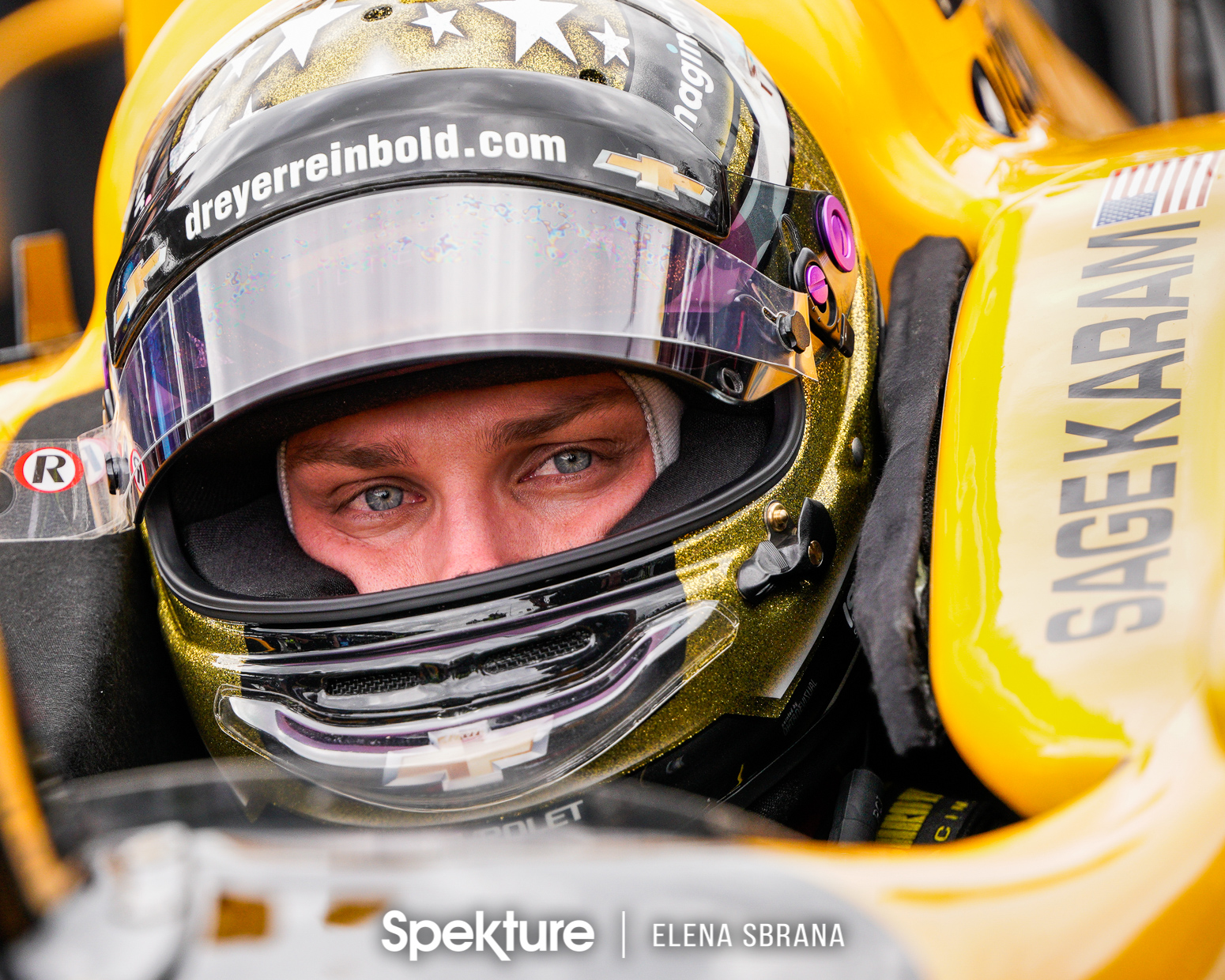 Earchphoto Sports - Sage Karam in the car for the last row shootout