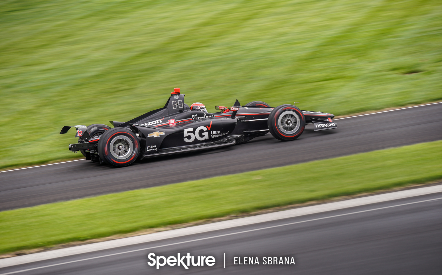 Earchphoto Sports - Will Power entering the oval