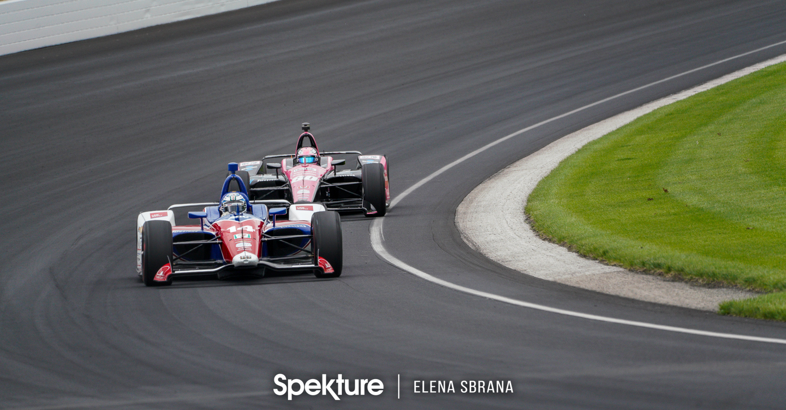 Earchphoto Sports - Tony Kanaan on track