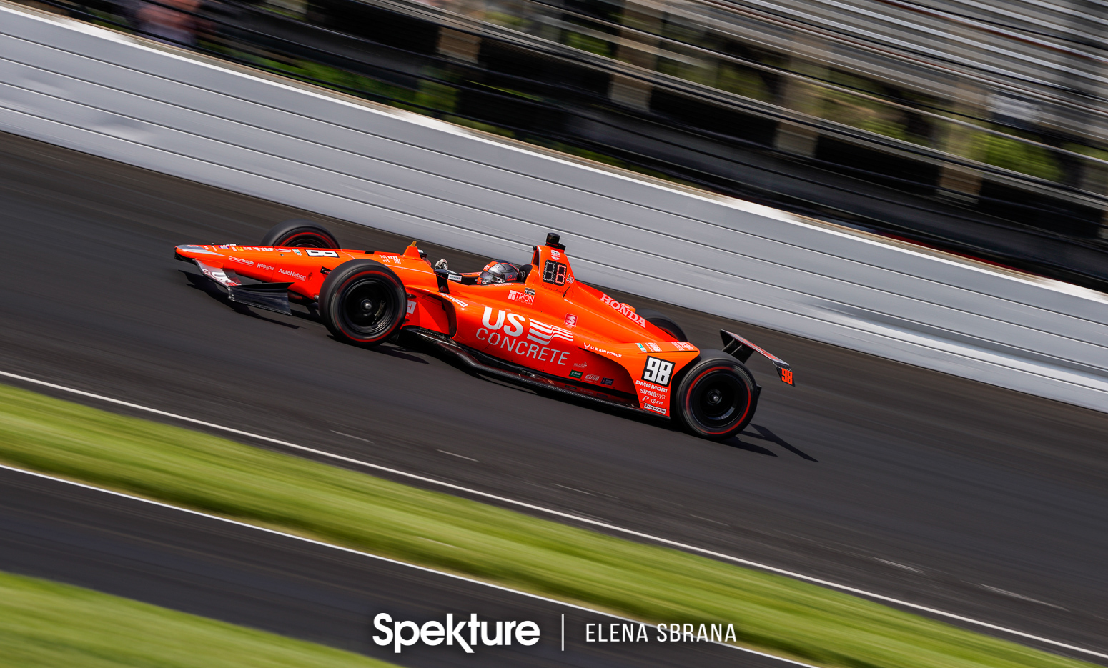 Earchphoto Sports - Marco Andretti on track at IMS
