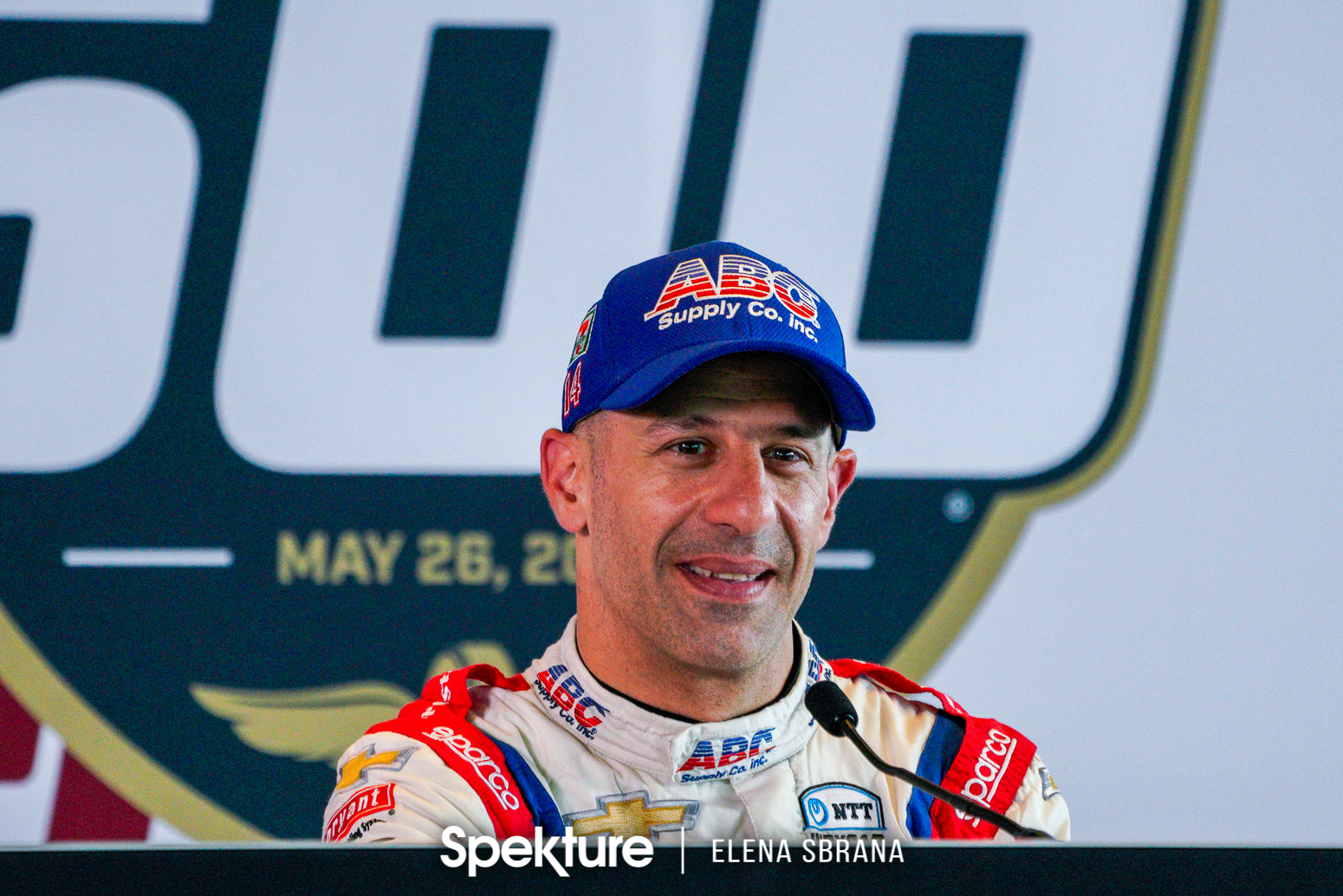Earchphoto Sports - Tony Kanaan during the press conference on Carb Day
